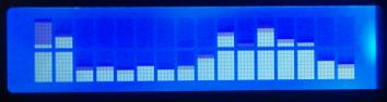 16×2 LCD Spectrum Analyzer Plugin for Winamp | Tools